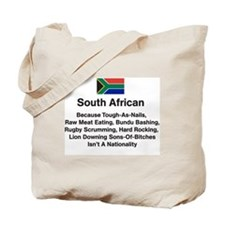 South African Because Tote Bag