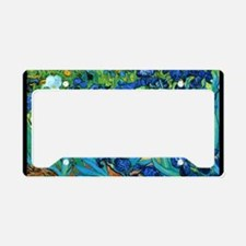 Cute Gardeners License Plate Holder