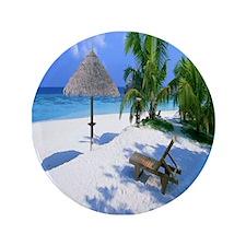 "Beach Rest 3.5"" Button"