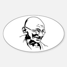 Strk3 Gandhi Oval Decal