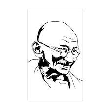 Strk3 Gandhi Rectangle Decal