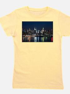 New York skyline Girl's Tee