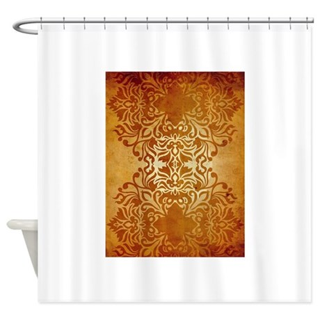 India Sunset Shower Curtain By SoulSelfies