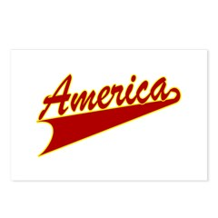 America Postcards (Package of 8)