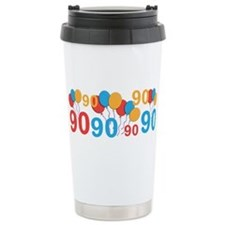 90 years old - 90th Birthday Travel Mug