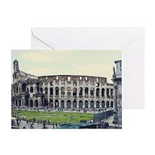 Colluseum Greeting Card