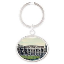 Colluseum Oval Keychain