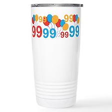 99 years old - 99th Birthday Travel Mug
