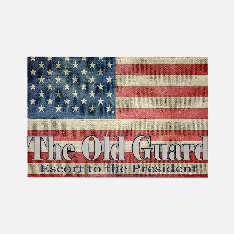 Cute Color guard flag Rectangle Magnet