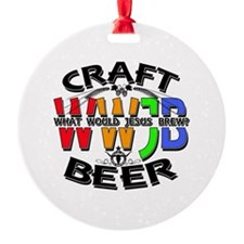 WWJB-What Would Jesus Brew? Ornament