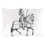 Knight in shining armor Pillow Cases