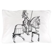 Knight in Armor Pillow Case