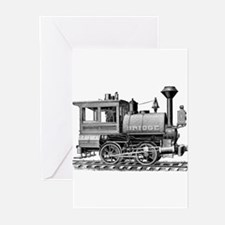 Vintage Steam Locomotive Greeting Cards (Pk of 10)
