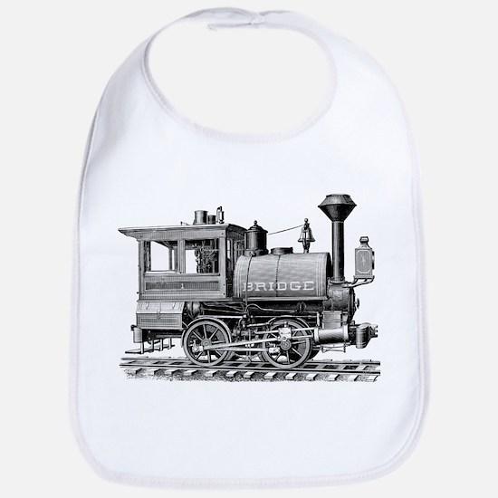 Vintage Steam Locomotive Bib