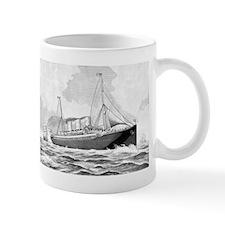 Vintage Steamship Mug