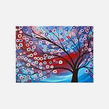 Artistic Tree 5'x7'Area Rug