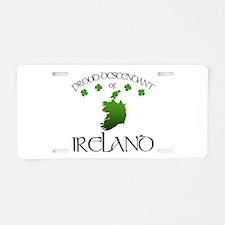 Ireland pride Aluminum License Plate