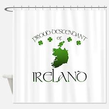 Ireland pride Shower Curtain