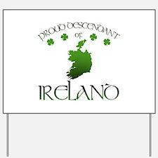 Ireland pride Yard Sign