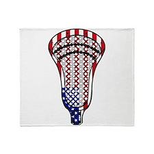 Unique Lacrosse Throw Blanket