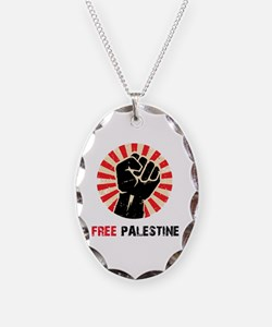 Free Palestine Necklace