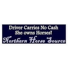 Northern Horse Bumper Bumper Sticker