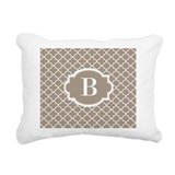 Initial Rectangle Canvas Pillows