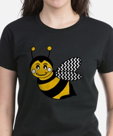 Cute Chevron Winged Bumble Be Tee