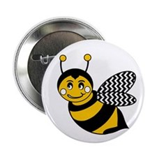 """Unique Bumble bee 2.25"""" Button"""