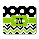 Lime green Classic Mousepad