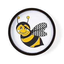 Unique Bumble bee Wall Clock
