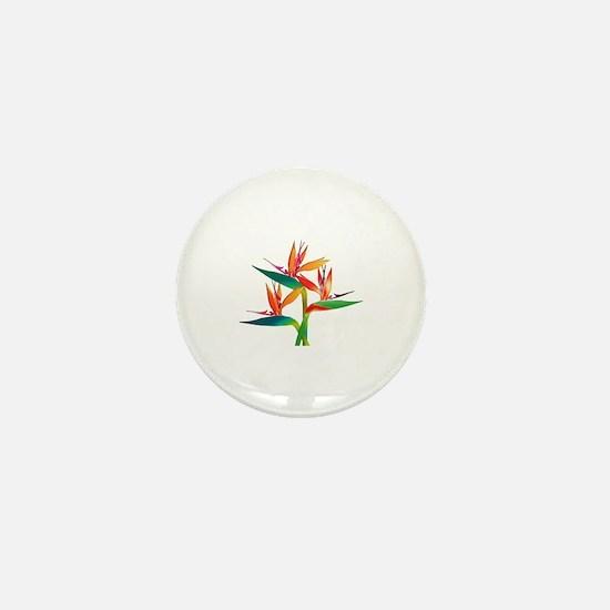 Cute Exotic birds Mini Button