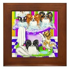 Tub Fulla Papillon BG Framed Tile