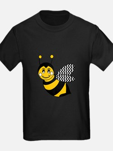 Cute Chevron Winged Bumble Bee T-Shirt