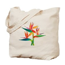 Unique Tropical flowers Tote Bag