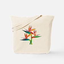 Unique Tropical bird Tote Bag