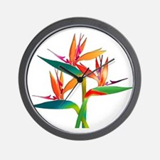 Cute Bird paradise Wall Clock