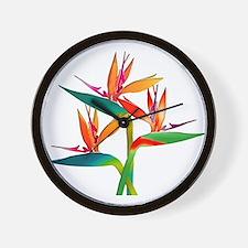 Cute Exotic bird Wall Clock