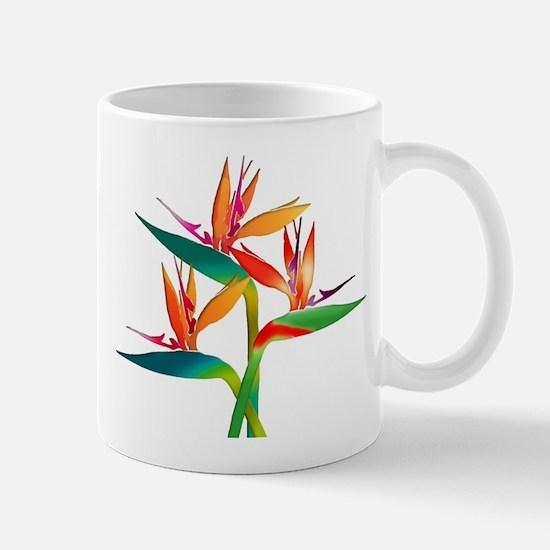 Birds of Paradise Trio Mugs