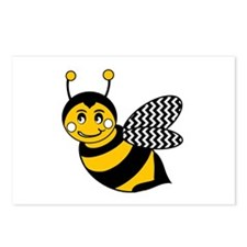Unique Bumble bee Postcards (Package of 8)