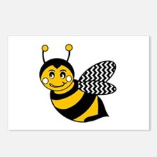 Cute Bumble bee Postcards (Package of 8)