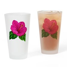 Unique Blooms Drinking Glass