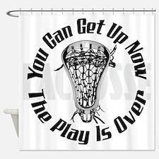 Cute Lacrosse moms Shower Curtain