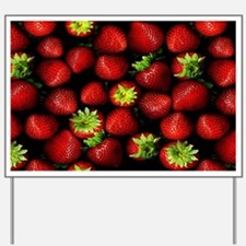 Strawberry Delight Yard Sign
