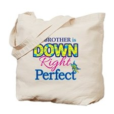 Brother_Down_Rt_Perfect Tote Bag