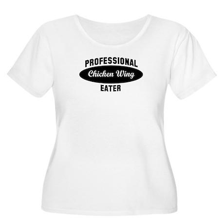 Pro Chicken Wing eater Women's Plus Size Scoop Nec