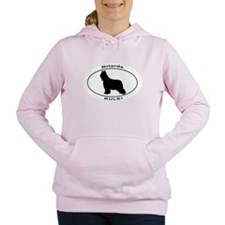 BRIARDS RULE Women's Hooded Sweatshirt