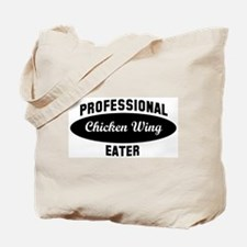 Pro Chicken Wing eater Tote Bag