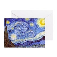 Funny Starry night Greeting Card