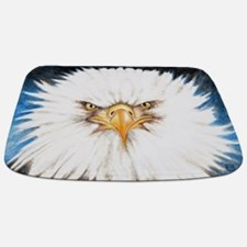Bald Eagle Gaze Bathmat